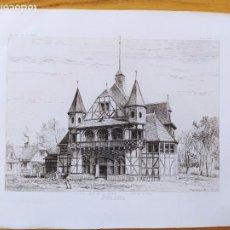 Arte: EXPOSITION MILLENAIRE DE BUDAPEST, PAVILLON FORESTIER, MR.ALPAR IGNATX, 1896 9. Lote 234564910