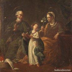 Arte: PINTURA RELIGIOSA ITALIANA ANTIGUA DEL SIGLO XVIII. Lote 234620570