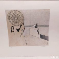 Arte: LITOGRAFIA ORGINAL. JOSEP MARIA SUBIRACHS. 19/150. UNIVERSITAT RAMON LLULL. 62X49. Lote 234672370