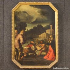 Arte: PINTURA RELIGIOSA ITALIANA ANTIGUA AL ÓLEO SOBRE LIENZO DEL SIGLO XVII.. Lote 234690955