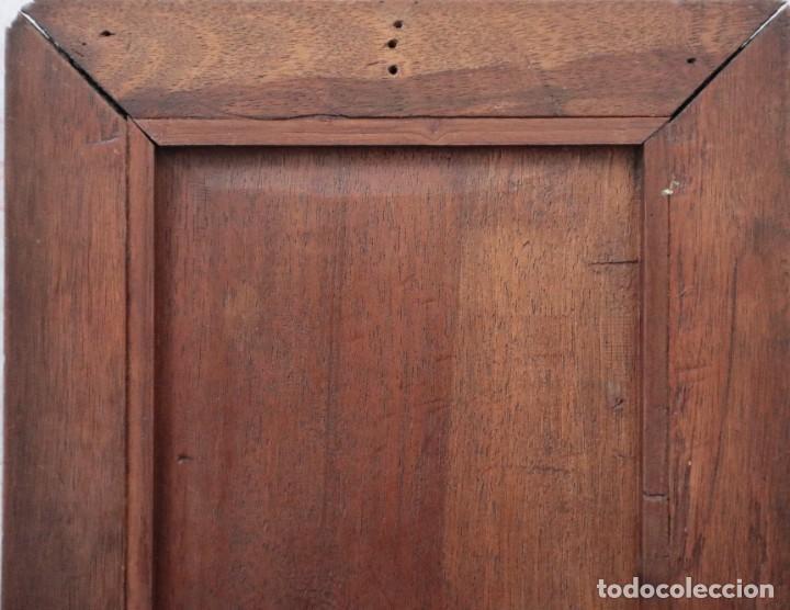 Arte: Virgen de los Dolores. Óleo sobre cobre. Escuela Española del siglo XVIII. Mide 16 x 13 cm. - Foto 14 - 234765440