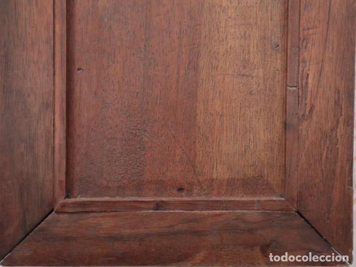 Arte: Virgen de los Dolores. Óleo sobre cobre. Escuela Española del siglo XVIII. Mide 16 x 13 cm. - Foto 15 - 234765440