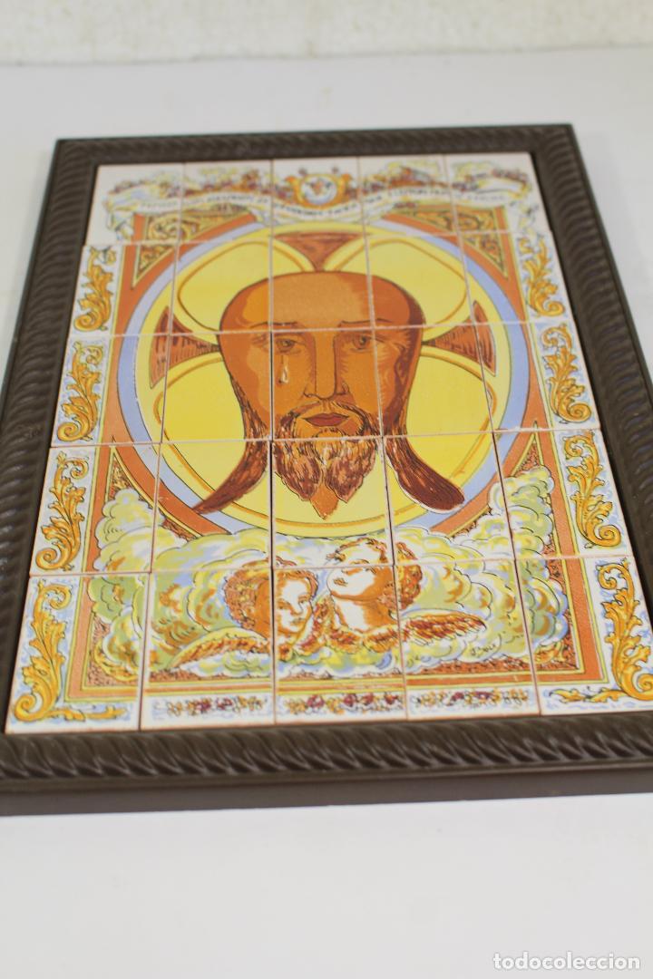 SANTA FAZ CUADRO MOSAICO DE 25 AZULEJOS (Arte - Arte Religioso - Pintura Religiosa - Otros)