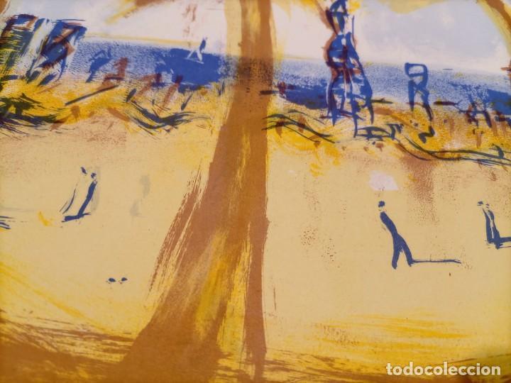Arte: MONTESOL - LITOGRAFIA - BARCELONETA BARCELONA - 33x33cm - FIRMADA LIMITADA Y NUMERADA - 82 de 195 - Foto 6 - 234934515