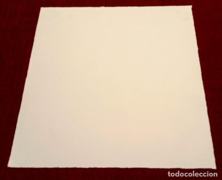 Arte: MONTESOL - LITOGRAFIA - BARCELONETA BARCELONA - 33x33cm - FIRMADA LIMITADA Y NUMERADA - 82 de 195 - Foto 7 - 234934515