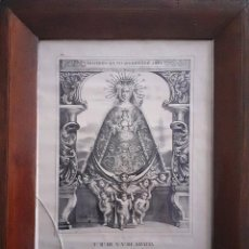 Arte: CONCEBIDA SIN PECADO ORIGINAL AMÉN V.º R.º DE N.ª S.ª DE GRACIA DE LA CIUDAD DE CARMONA. Lote 235019930
