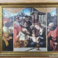 Arte: CUADRO RELIGIOSO 30 X 36 CM. Lote 235141930