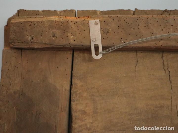 Arte: Santa Clara. Relieve de madera policromada. Retablo del siglo XVII. Mide 81 x 67 cm. - Foto 32 - 235186290
