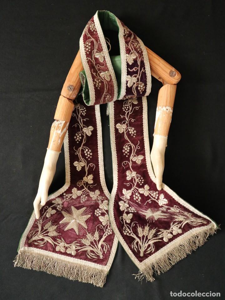 Arte: Brazos y manos de tamaño natural para imagen vestidera o cap i pota. Siglo XVIII. - Foto 3 - 235361650
