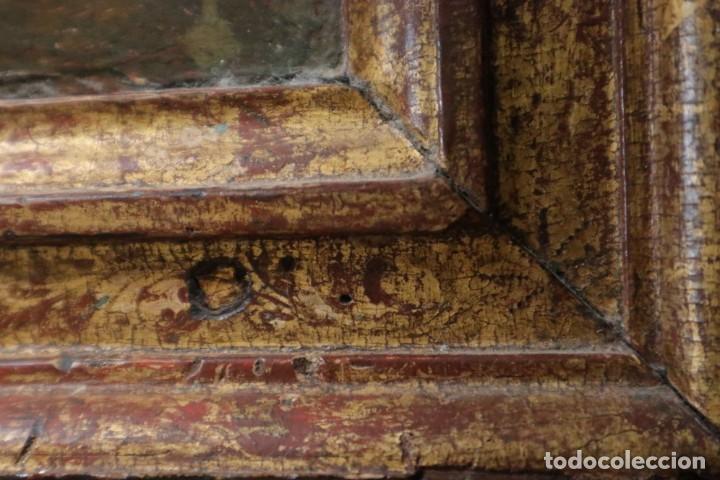 Arte: Calvario. Oleo sobre tabla. Escuela Española. Siglos XVI-XVII. - Foto 17 - 117955635