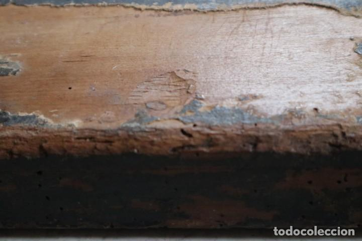 Arte: Calvario. Oleo sobre tabla. Escuela Española. Siglos XVI-XVII. - Foto 22 - 117955635