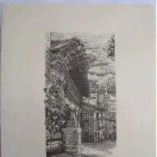 Arte: ELCIEGO (ALAVA). EL PUEBLO VASCO. 31X40 CM. ALDAMA J. (DIBUJO). Lote 235789225