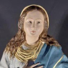 Arte: INMACULADA. TERRACOTA. ESPAÑA. SIGLO XVIII-XIX. 54 CM.. Lote 235989410