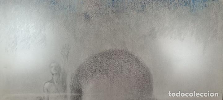 Arte: ABSTRACTO. FIRMADO PERE. LITOGRAFÍA SOBRE PAPEL. 1968. - Foto 6 - 236162305