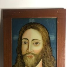 Arte: ECCE HOMO. OLEO SOBRE CRISTAL. SIGLO XVIII.. Lote 236412310