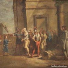 Arte: PINTURA RELIGIOSA ITALIANA ANTIGUA DEL SIGLO XVIII. Lote 236578970