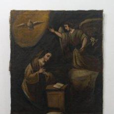 Arte: CUADRO AL ÓLEO RELIGIOSO DEL AÑO 1864. Lote 236629815