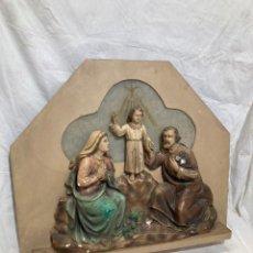 Art: PRECIOSO ICONO RELIGIOSO CON LUZ!. Lote 236967160