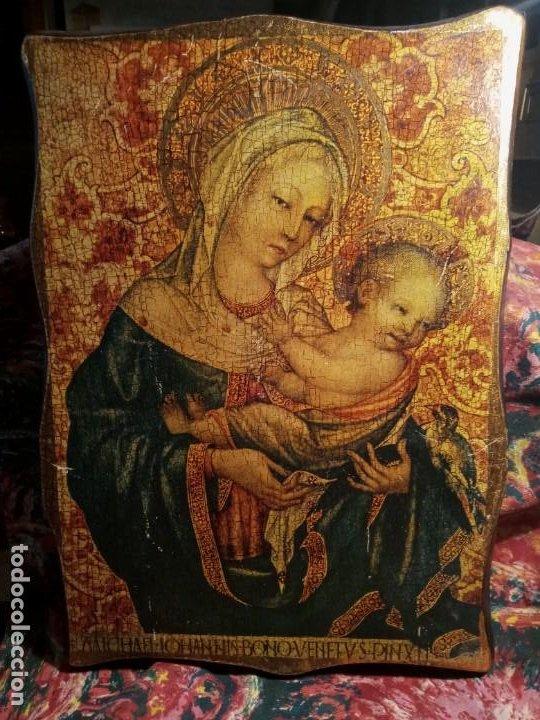ICONOGRAFIA . (Arte - Arte Religioso - Retablos)