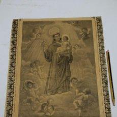 Arte: BELLO SAN ANTONIO DE PADUA 1810. Lote 237139855