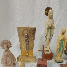 Arte: LOTE FIGURAS RELIGIOSAS. Lote 237151050