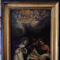 Arte: OLEO SOBRE COBRE SANTA ROSA DE LIMA SIGLO XVII. Lote 237369635