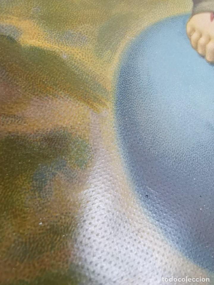 Arte: san francisco de asis - litografia durá - valencia - Foto 11 - 237391135