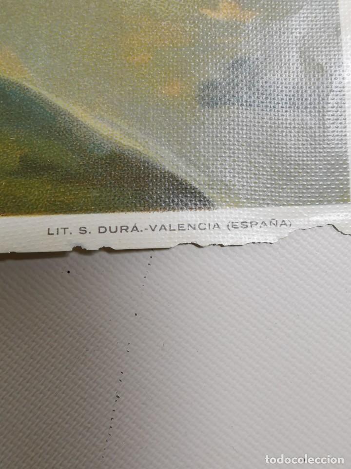 Arte: san francisco de asis - litografia durá - valencia - Foto 13 - 237391135