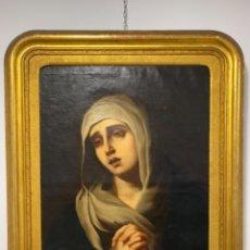 Arte: OLEO SOBRE LIENZO COPIA DE MURILLO S. XVIII. Lote 154239286