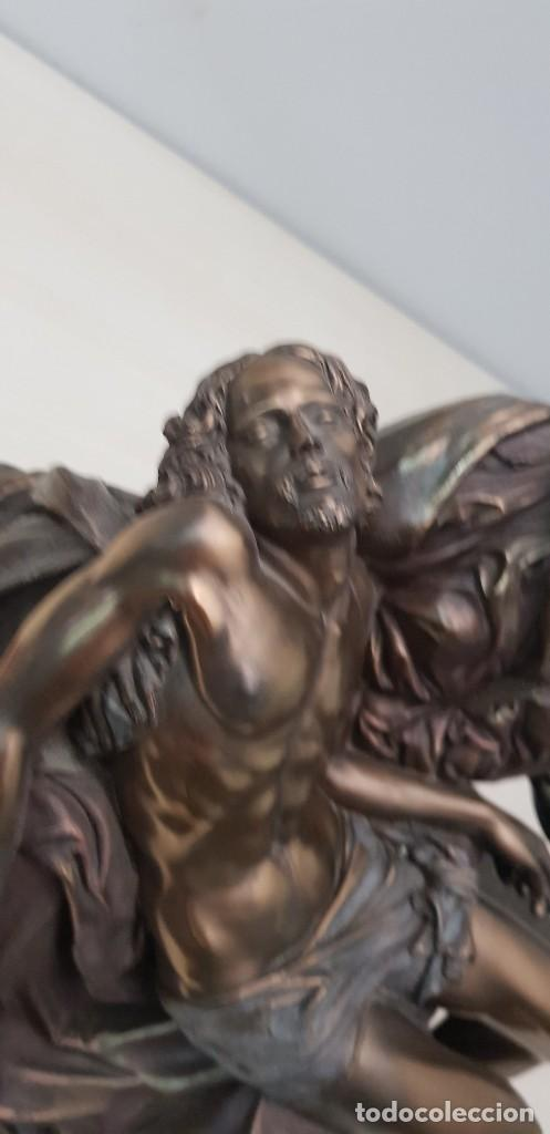 Arte: Piedad de Miguel Ángel, bronce ceramica figura escultura - Foto 2 - 237715690