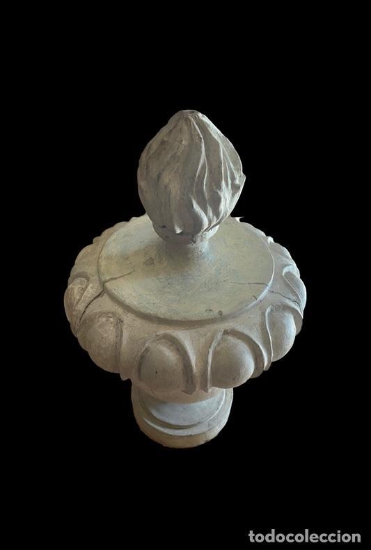 Arte: Maravilloso copete, remate,pináculo de retablo barroco, S XVIII. - Foto 2 - 237874370