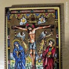 Arte: PLACA CERAMICA, CRISTO CRUCIFICADO.. Lote 238628460