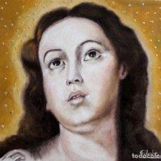 Arte: INMACULADA INCLUYO MARCO OBRA DE GILABERTE. Lote 239500740