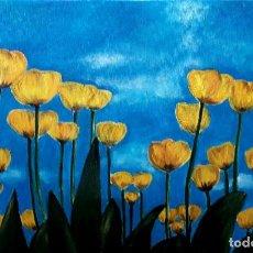 Arte: TULIPANES OBRA DE GILABERTE. Lote 239738640