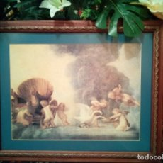 Arte: CUADRO ANGEL ANGELES. 54 X 44 CM-NUEVOS. PIEZAS ESPECIALES.PRECIOSOS. Lote 239929460