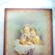 Arte: CUADRO ANGEL ANGELES. NUEVOS. PIEZAS ESPECIALES.PRECIOSOS. Lote 239929500