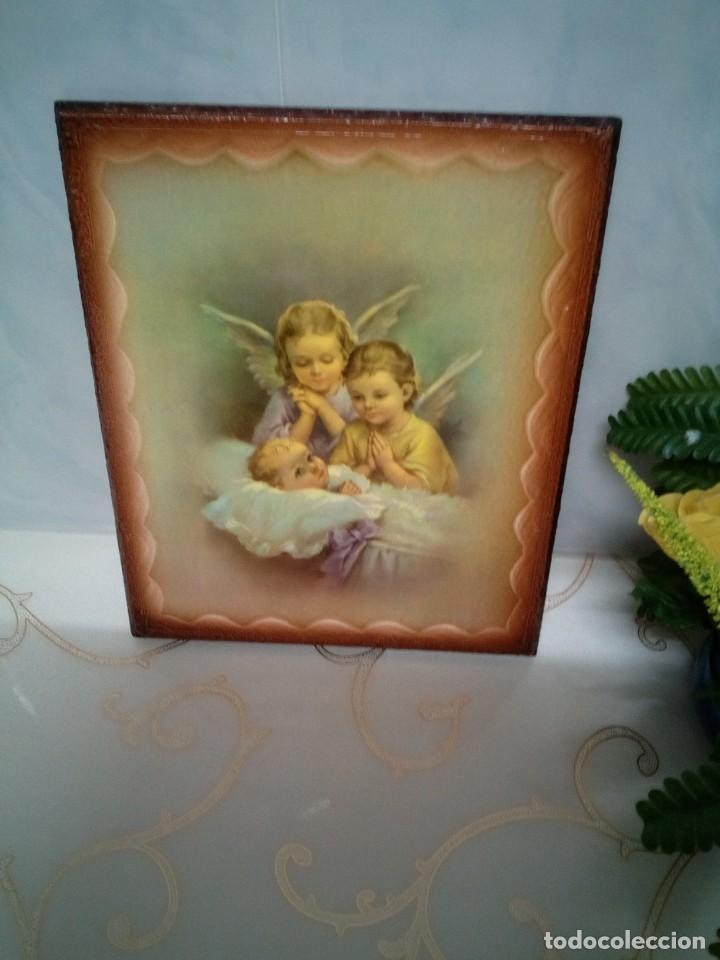 Arte: CUADRO ANGEL ANGELES. NUEVOS. PIEZAS ESPECIALES.PRECIOSOS - Foto 4 - 239929500