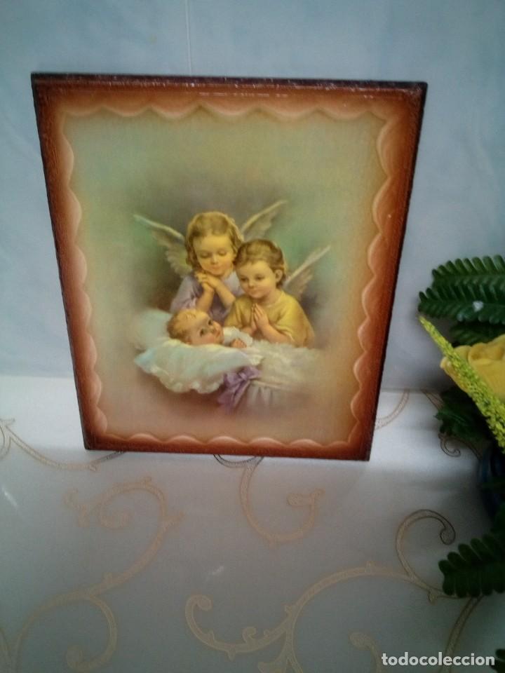 Arte: CUADRO ANGEL ANGELES. NUEVOS. PIEZAS ESPECIALES.PRECIOSOS - Foto 5 - 239929500