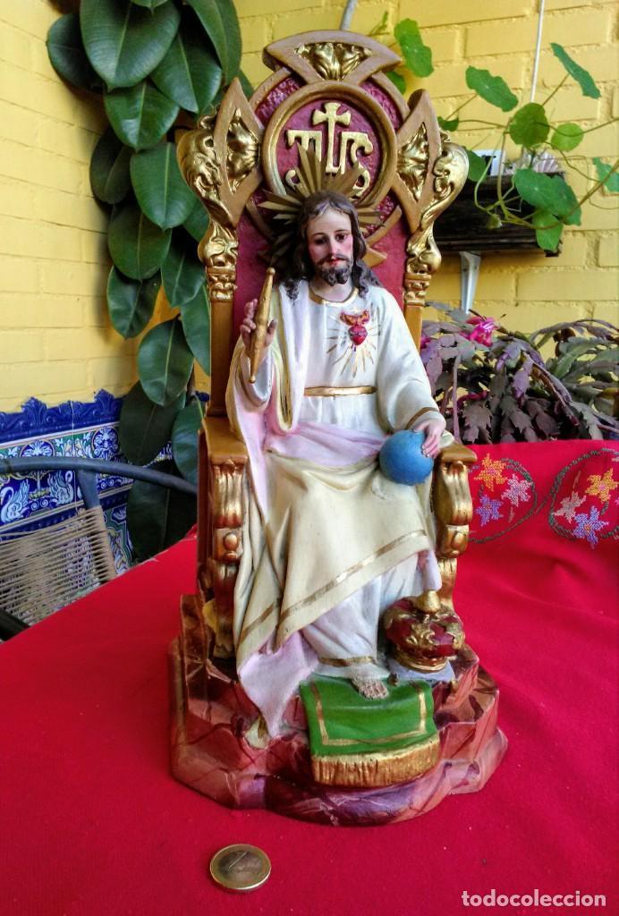 Arte: Capilla antigua con figura del Corazón de Jesús - Foto 9 - 240102360