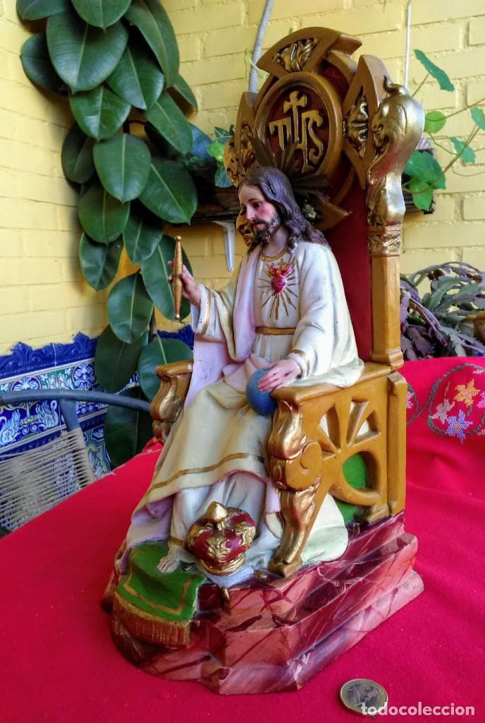 Arte: Capilla antigua con figura del Corazón de Jesús - Foto 11 - 240102360