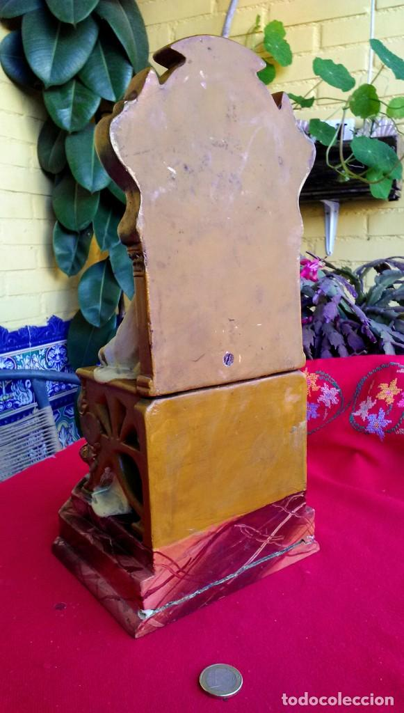 Arte: Capilla antigua con figura del Corazón de Jesús - Foto 12 - 240102360