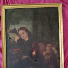 Arte: OLEO SOBRE LIENZO, NIÑO DE PASION, 1000-050. Lote 240579190