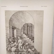 Art: LA TENTACION DE SAN ANTONIO, DE ALBRECHT DURERO, MEISTER ALBERTINA, PLANCHA Nº 566. Lote 240596030