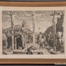 """Arte: 2 LÁMINAS CON MARCO , TEMA """"PASIÓN"""". Lote 241116555"""