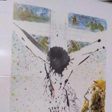 Arte: BONITA LITOGRAFIA DE CRISTO DE SALVADOR DALI DE LA BIBLIA SACRA EDICION LIMITADA MARCO INCLUIDO. Lote 257422005