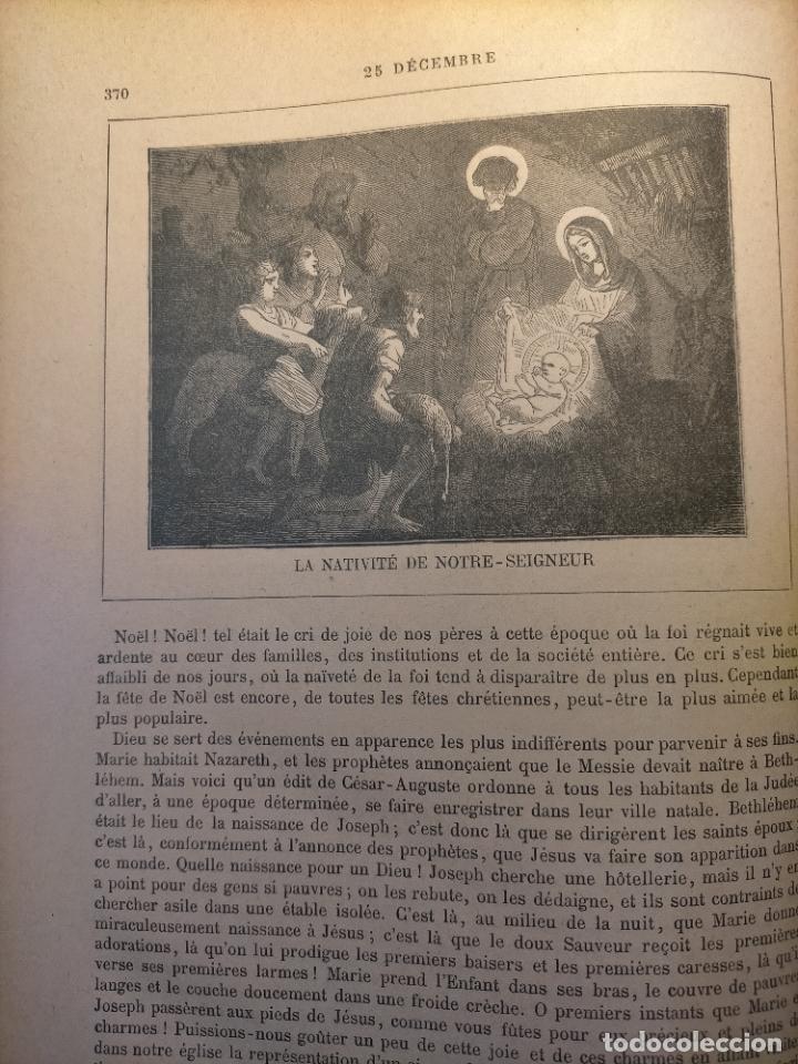 AÑO 1842 ANTIGUO GRABADO ORIGINAL RELIGIOSO SANTORAL - NAVIDAD NACIMIENTO NIÑO JESUS BELEN VIRGEN (Arte - Arte Religioso - Grabados)