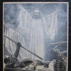 Arte: FRANZ GAILLIARD (BÉLGICA, 1861-1932) - RESURECCIÓN DE CRISTO. Lote 28327534
