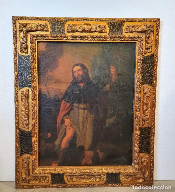 OLEO RELIGIOSO SOBRE LIENZO (Arte - Arte Religioso - Pintura Religiosa - Oleo)