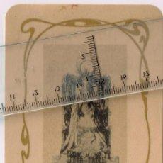 Arte: AÑOS 10 - 20 CA. ESTAMPA INUSUAL FORMATO DE NTA. SRA. DE LA MERCED PATRONA BARCELONA IMPRENTA THOMAS. Lote 243670015