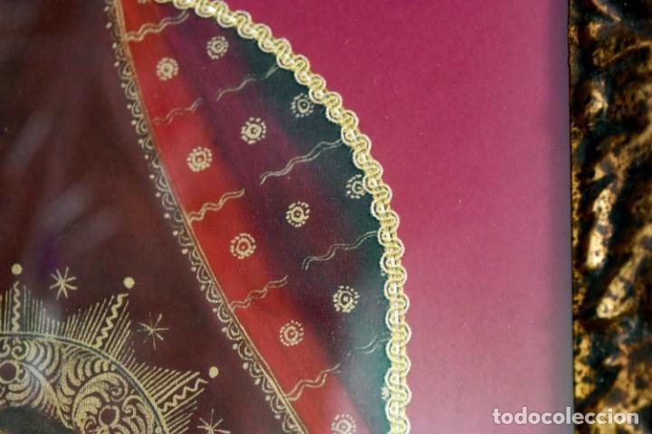 Arte: Espléndido cuadro de pintura cuzqueña con remate en hilo de oro - Foto 7 - 244230975